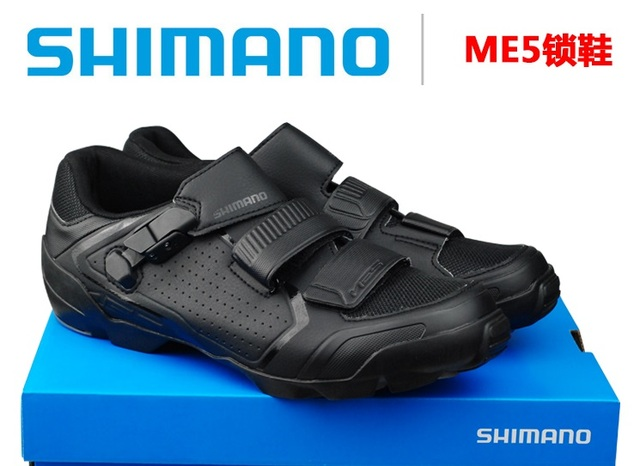 6524fd4d111 SHIMANO ME5 SHOES MTB Bicycle Bike Footwear CITY Locking Shoes-in ...