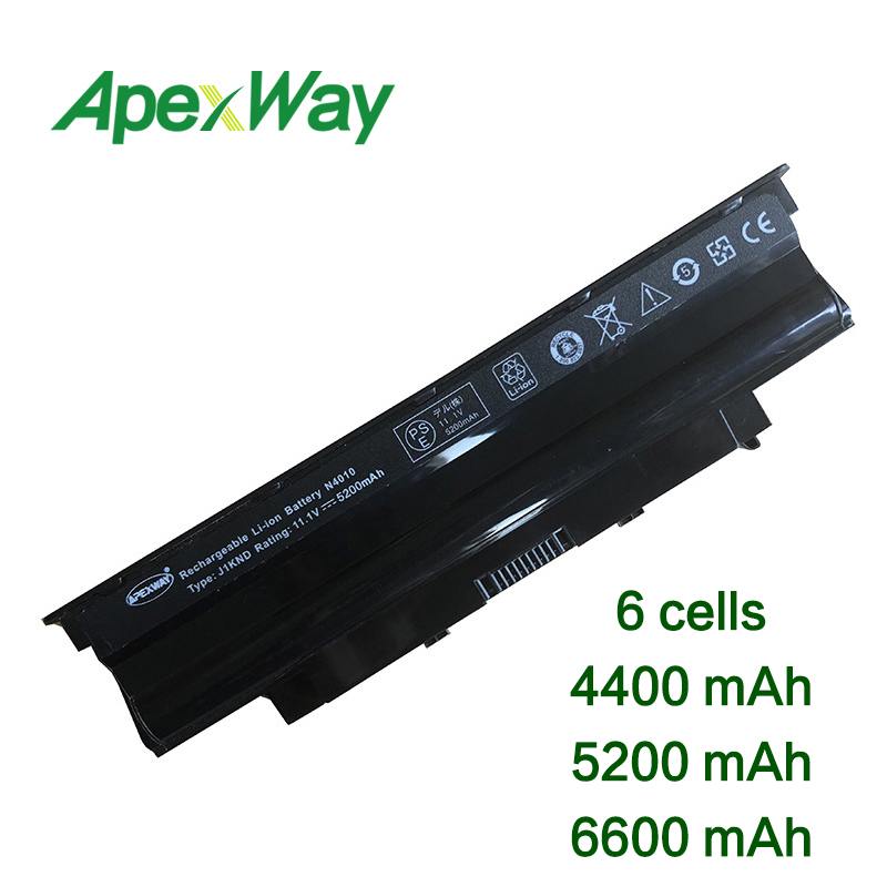 11.1 V 6 Cellen N5110 Laptop Batterij Voor Dell Inspiron 13r 14r 15r 17r M411r M501 N3010 N3110 N4010 N4010-148 N4010d-158 N4050 Bekwame Vervaardiging