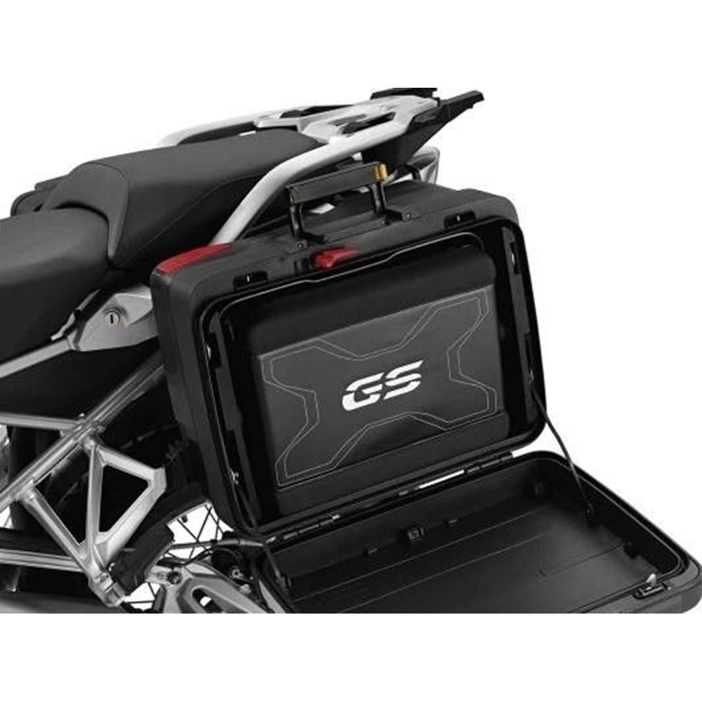 Motorcycle high quality genuine side bags luggage bag waterproof bag satchel for BMW gs650 gs1200 gs800 gs700 image
