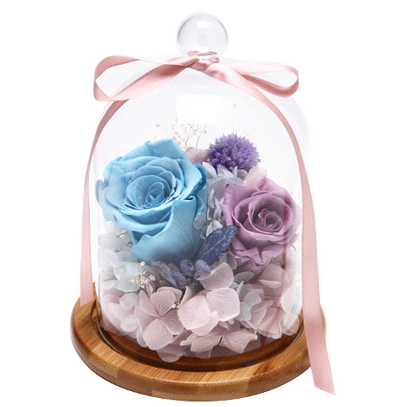 ZOTOONE décoration de pâques cadeau équatorien Rose éternelle préservé fleurs saint valentin cadeau pour chérie et Parents G