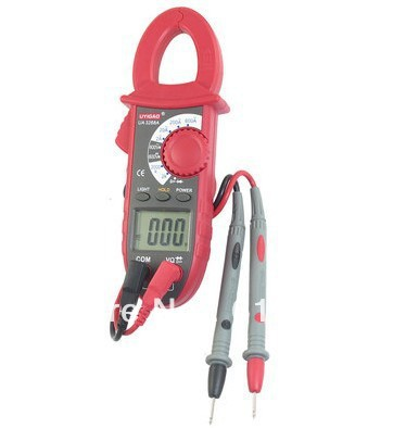 UA3268A Ammeter AC DC Voltmeter Ohmeter Diode Hfe Digital Clamp Multimeter Dual Leads Tester Instrument Tool
