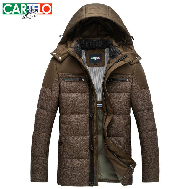Aliexpress.com : Buy CARTELO/Brand Slim 90% Duck Men's Casual Down ...