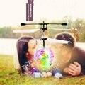 Авто Индукции Мини Левитации Летающая Ночь Перл Дронов RC Quadcopter с Музыкой и Обсуждения Огни Дети Дети Toys Подарок