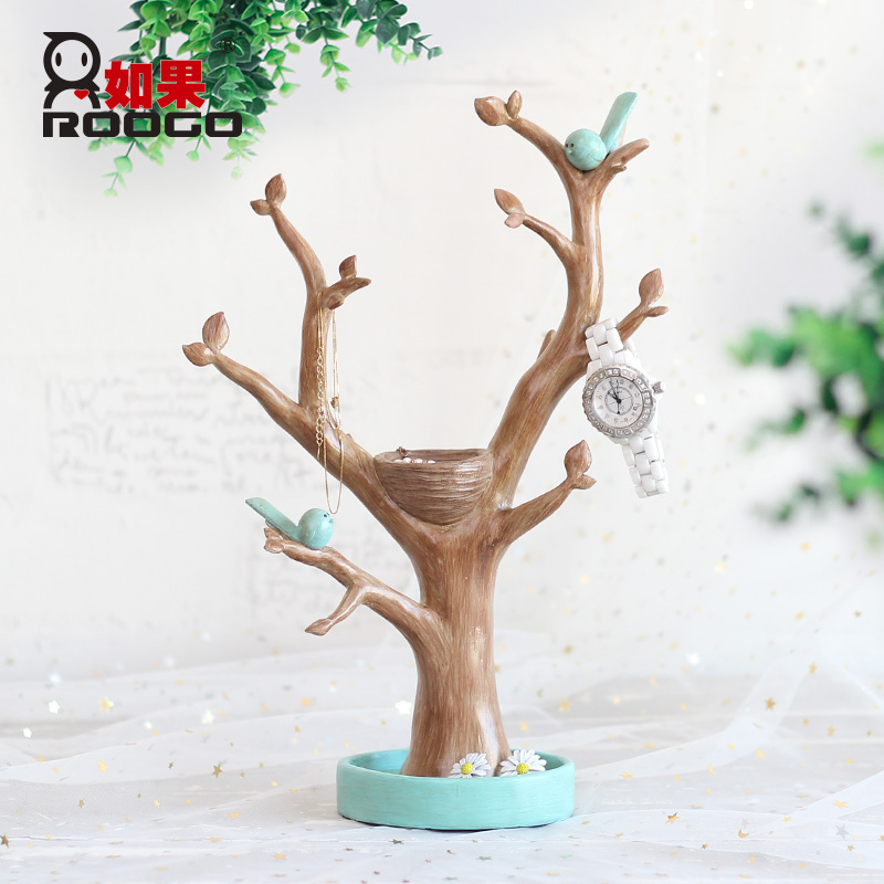 Roogo useful lovesick series tree shape desk decorations for hanging small items best gift for girlfriend