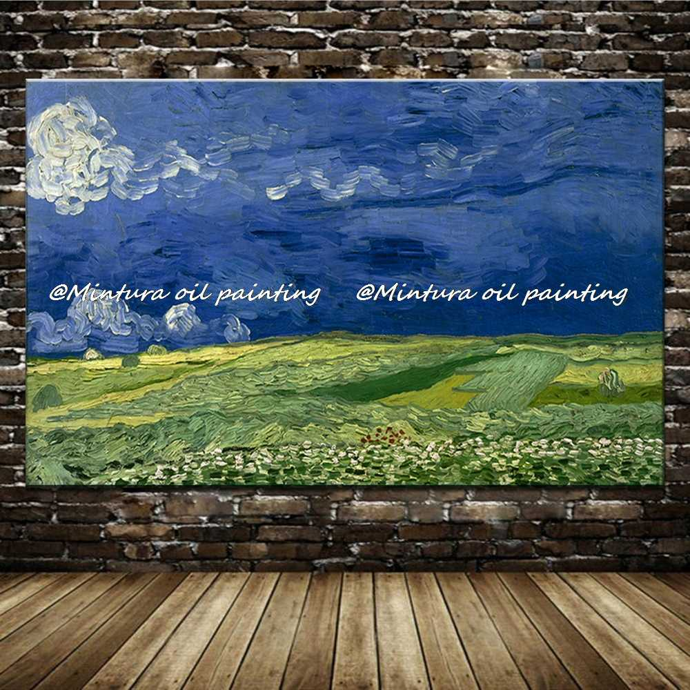 Wholesale! Free Shipping! Reproduction 100% Handmade Oil Painting On Canvas Vincent Van Gogh Modern Abstract Decorative Picture