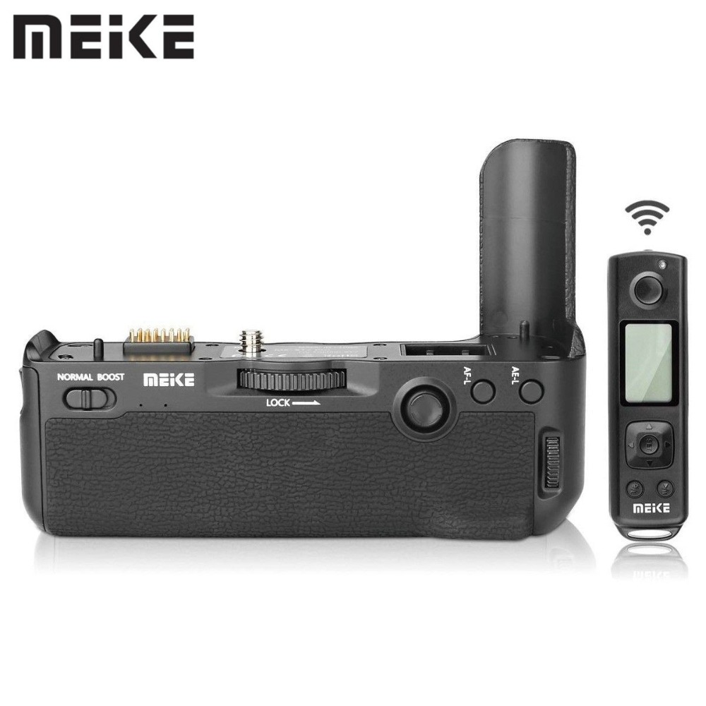 Meike MK-XT2 Pro Battery Grip with 2.4G Wireless Remote for Fujifilm X-T2 as VPB-XT2 цена
