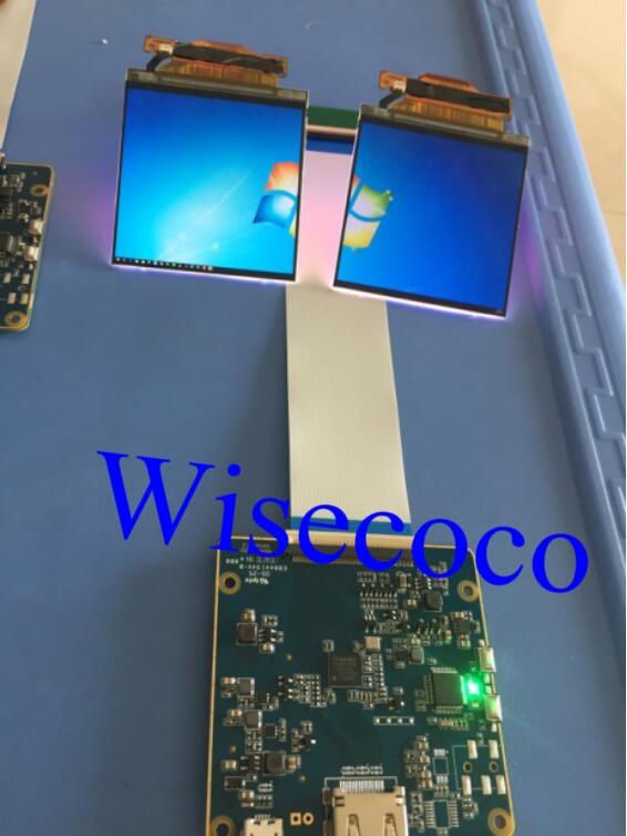 Placa HDMI para MIPI LS029B3SX02 2 k tela LCD de 2.9 polegada 1440*1440 LCM Display para VR AR fone de ouvido aplicação