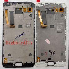 5,5 «для Meizu Mx5 M575M M575H ЖК-дисплей с рамкой/дисплей с сенсорным стеклом рамка Полное собрание восстановить нарушенные экраны