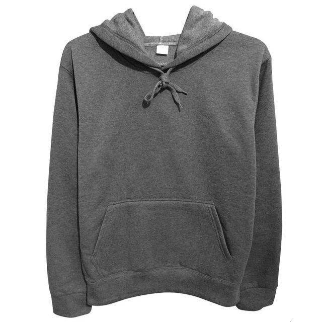 Fashion Design Cotton Black/Gray Mens Long Sleeve Hoodies Mens Hip Hop Hoodies to Street Wear Style Harajuku Sweatshirt