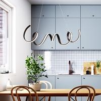 Simples e moderno led luzes pingente criativo restaurante sala de estar barra decoração interior café cor iluminação pingente lâmpadas|Luzes de pendentes| |  -