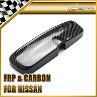 EPR Car Styling For Nissan Skyline Carbon Fiber Room Rear View Mirror Cover R33 4 Door