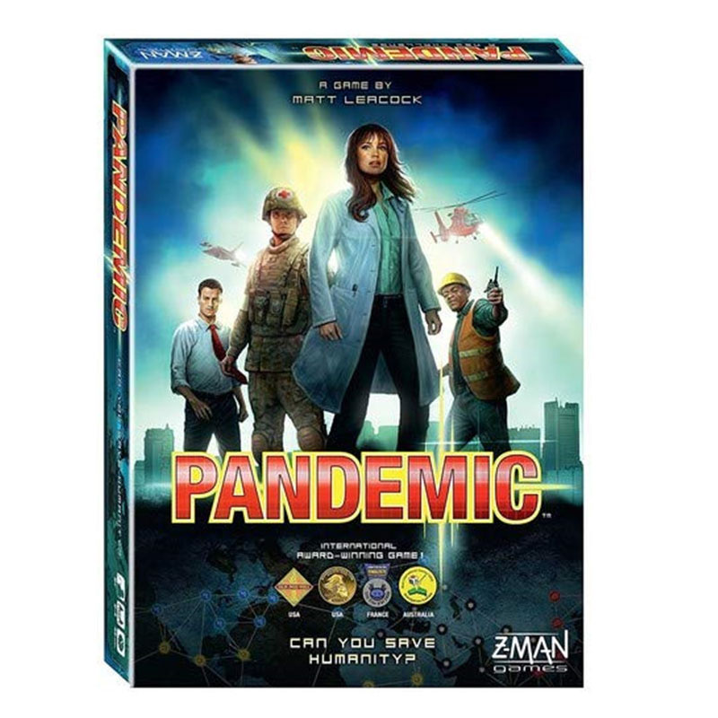 Funny Pandemic Board Game Paper Cards Strategic Reasoning Plague Family friends interactive educational toys image