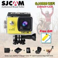 Original SJCAM SJ4000 wi fi 2.0 HD Video Resolution Action Camera Waterproof Camera 1080P Sport DV sj cam sj 4000 sport wifi cam