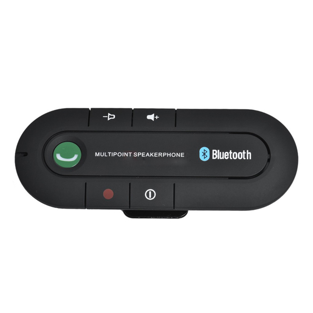 Universal Speakerphone Wireless Bluetooth v4.1 Handsfree Car Kit MP3 Music Player For Sun visor for Phone Connect