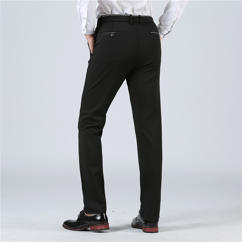 BATMO 2019 new arrival high quality casual pants men men s smart casual pants elastic trousers BATMO 2019 new arrival high quality casual pants men,men's smart casual pants,elastic trousers,plus-size 1828