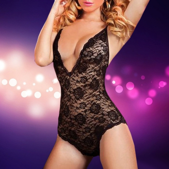 Sexy Underwear Women Sexy Lingerie Transparent Conjoined Dress Suit Erotic Costums Clothes For font b Sex