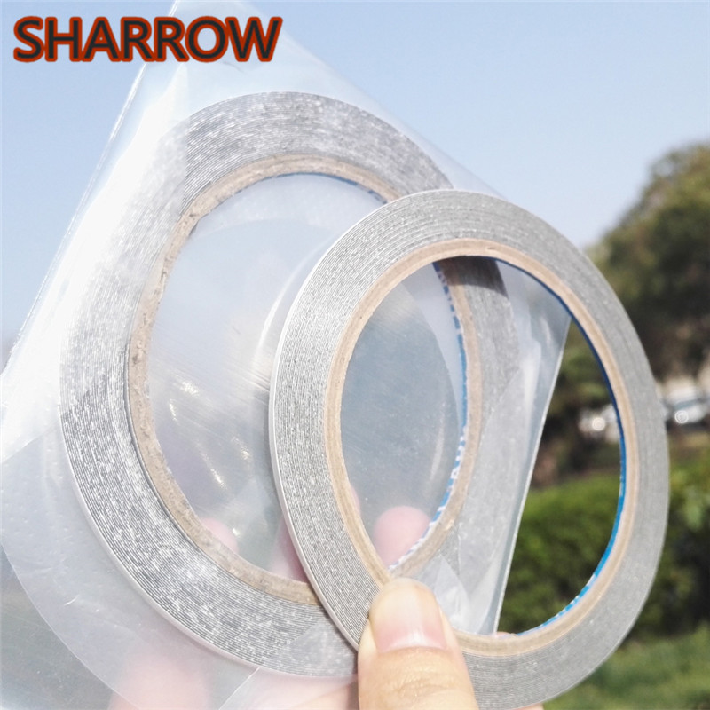 1 Roll Archery Fletching Tape Double Side Arrow Feather Quill Hunting DIY Tools