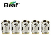 5pcs Eleaf Melo RT 25 ERL Head 0 15ohm Coil Support 50w 150w Single Kanthal Coil