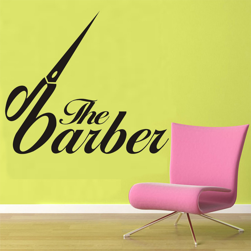 Hair Salon Vinyl Wall Decal Barber Shop Hairdresser Hair Salon - Custom vinyl wall decals for hair salonvinyl wall decal hair salon stylist hairdresser barber shop
