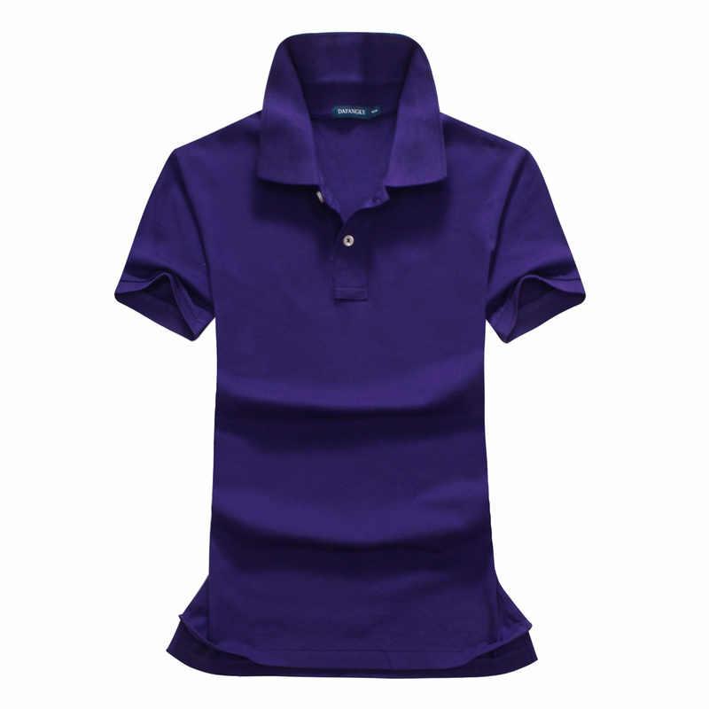 新しいコットンショートスリーブ女性小馬ポロシャツ刺繍乗馬女性ポロ襟尾クラシックフィット最高品質 p056