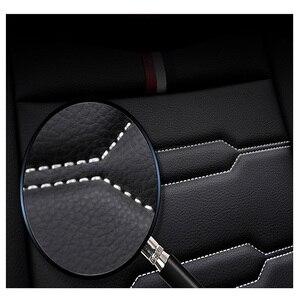 Image 4 - Housses de siège de voiture en cuir PU, pour mazda 6 gh cx 5 opel zafira b bmw f30 vw passat b6 solaris hyundai bmw x5, haute qualité