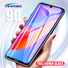 TeoYall 9D Curved Glass on honor 8A 10 Lite Protective for Huawei 8X 8S P20 P10 20 9 Screen Protector