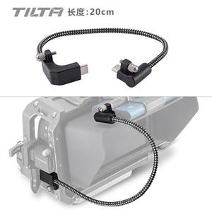 Image 1 - Tilta CB USBC 20 Nero 90 Gradi 20 centimetri USB C Cavo per BMPCC 4K