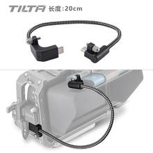 Tilta CB USBC 20 câble de USB C noir 90 degrés 20cm pour BMPCC 4K