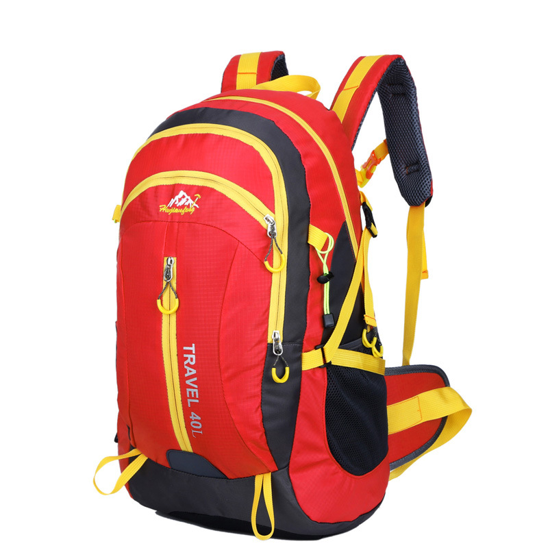 Climbing Backpack Waterproof Outdoor Sport Bags Hiking Trekking Camping Mountaineering Knapsack