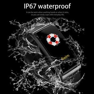 Image 4 - Onevan metal banda inteligente monitor de pressão arterial e freqüência cardíaca gps esporte fitness ip67 inteligente pulseira relógio para xiaomi android ios