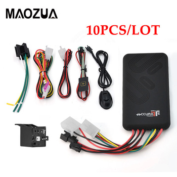 10PCS/LOT Real-time Vehicle GPS Locator Mini Car GPS Tracker GT06 with Cut Off Fuel / Stop Engine / GSM SIM Alarm image