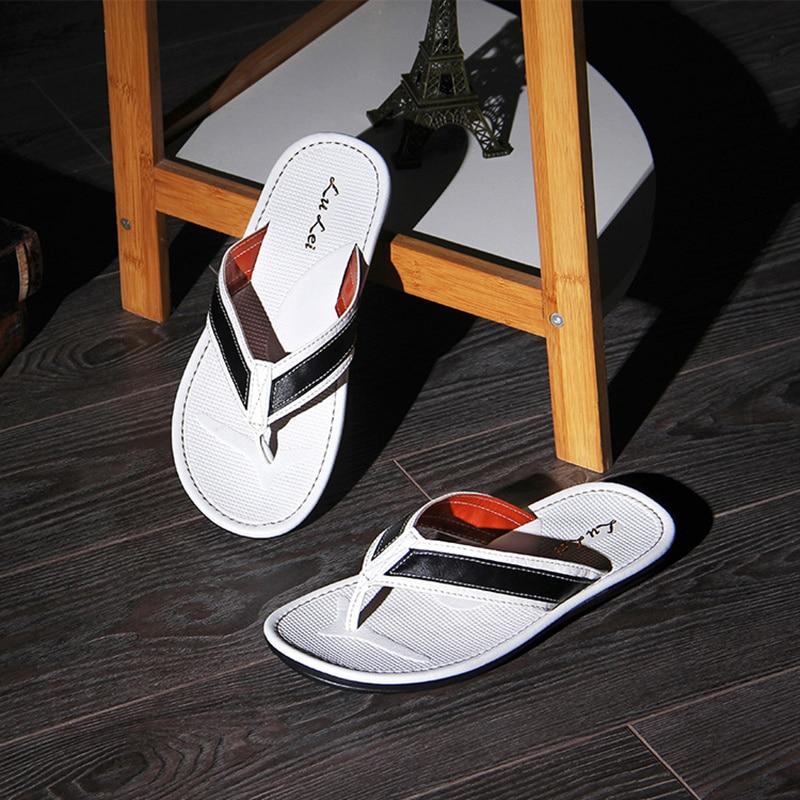 2018 novi trendovi casual flip-flops flip-flops ljetne ne-slip nosive - Muške cipele - Foto 2