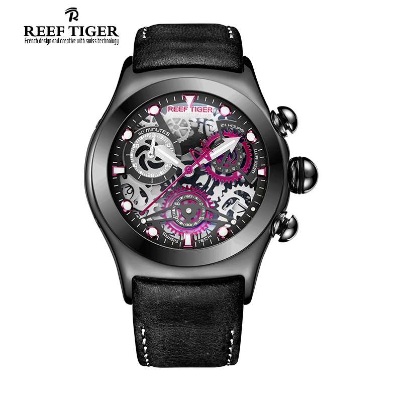 Reef Tiger RT Sport font b Watch b font for Men Unique font b Watch b