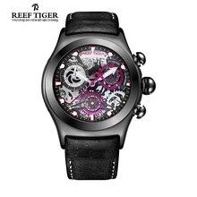 Arrecife Tigre/RT Sport Reloj para Hombre Relojes de Acero Reloj Único Con Sólido RGA792