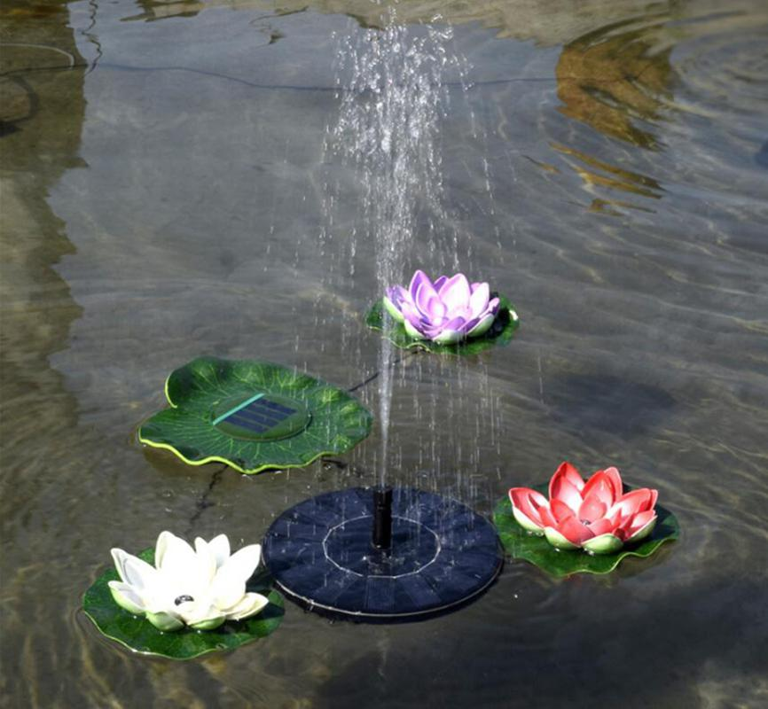 Fontanna solarna basen ogrodowy staw zewnętrzna pływająca fontanna pompa wodna dekoracja ogrodowa