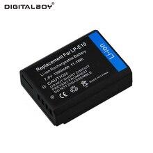 Hot Sale 1pcs 1500mAh LP-E10 LP E10 Rechargeable Camera Battery For Canon Camera 1100D Rebel T3 Kiss X50 LPE10