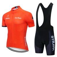 2019 STRAVA Велоспорт Джерси мужская стильная, с короткими рукавами Спортивная одежда для велоспорта открытый mtb ropa ciclismo велосипед