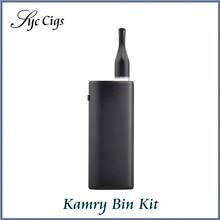 New Original Kamry Bin E-Cigarette Kit 650mAh Vape Pen for CBD THC 1.6ohm CE3 Atomizer Huge Vape Portable Electronic Hookah Pen