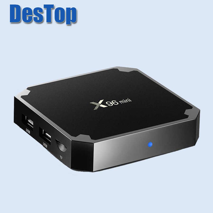 X96 Мини Android 7.1.2 Мини ТВ коробка S905W четырехъядерный 2,4 ГГц WiFi Макс 2G ram 16 Гб rom медиаплеер Поддержка 4 K даже 3D HD фильмы 1 шт