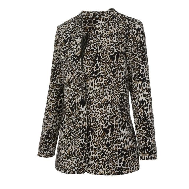 2018 New Casual Leopard Coat 3