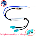 Car Antenna with a Amplifier Booster  Two Way Radio Antenna Adaptor For Volkswagen