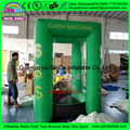Popular inflatable cash grab booth machine,inflatable cash machine, cash blowing inflatable money machine for sale