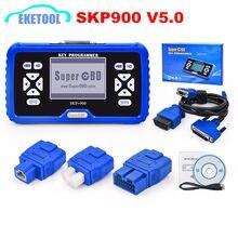 100% original v5.0 superobd2 SKP-900 programador chave novo sem tokens limitada atualização em linha auto chave fabricante skp900 expresso rápido