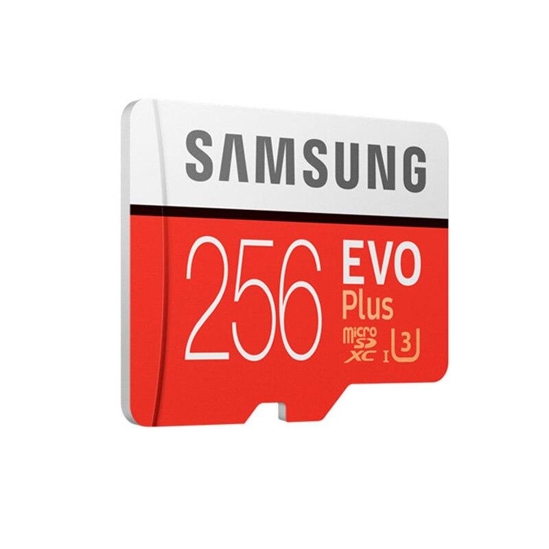 Carte mémoire SAMSUNG Micro SD 256GB 16GB 32GB 64GB 128GB SDHC SDXC Grade EVO Plus U3 EVO classe 10 C10 UHS TF Flash Microsd - 3