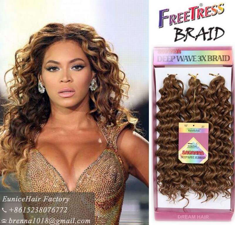 Synthetic braids popular hair styles FreeTress Equal