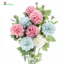 70cm  Artificial Flowers Daisy 1Pcs DIY High Quality Silk for Home Decoration Hydrangea Thanksgiving Gift