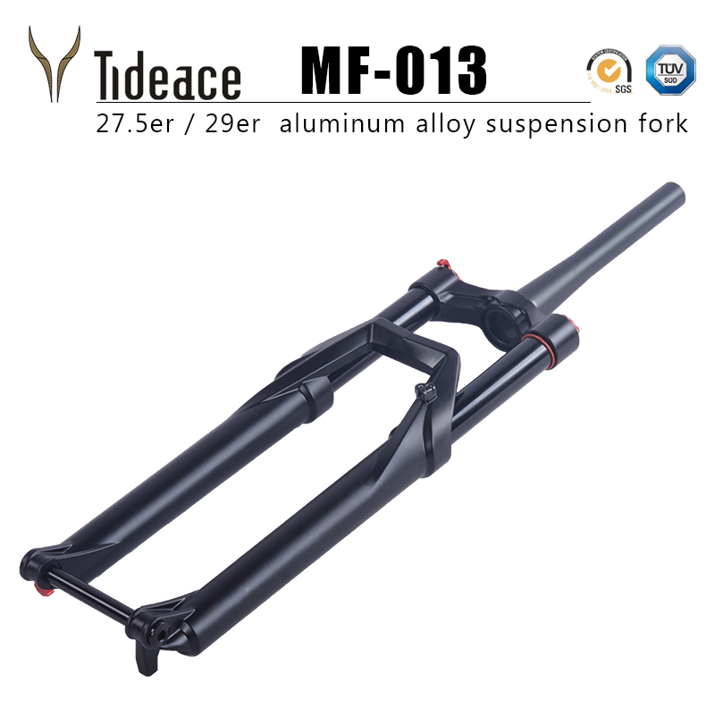 2017 new mtb suspension fork 27.5er 29er thru axle aluminum alloy disc brake mountain bike fork 27.5 29 for carbon bicycle rockbros titanium ti pedal spindle axle quick release for brompton folding bike bicycle bike parts