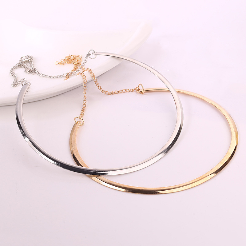 Charm Opal Elegant Fashion Elephants Pendant Sweater Chain Retro Silver Necklace