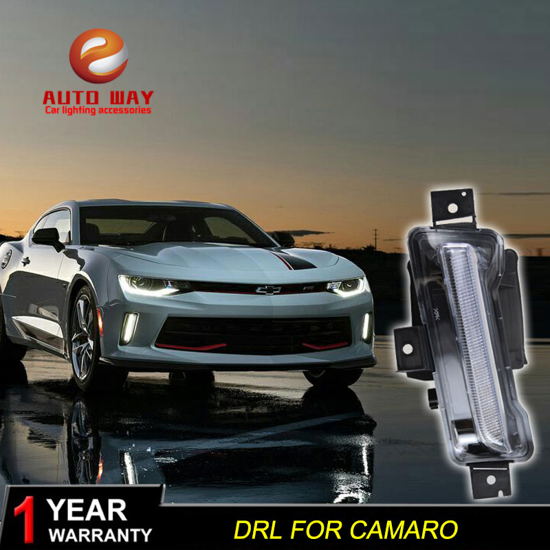 Free shipping 12V 6000k LED DRL Daytime running light case for Chevrolet camaro 2016 2017 fog lamp frame camaro Fog light free shipping 12v 6000k led drl daytime running light for chevrolet aveo fog lamp frame fog light