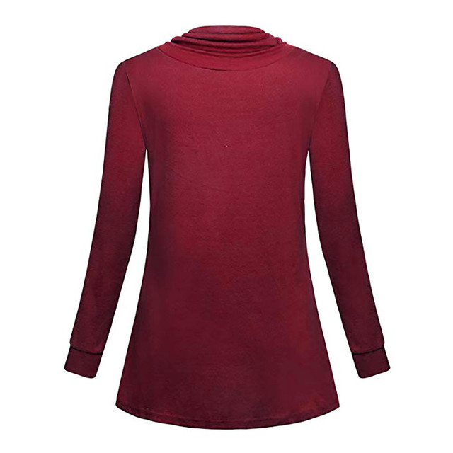 LONSANT Maternity Blouse Women Nursing Button Long Sleeves Blouse winter Casual pocket Tops Breastfeeding solid Clothes